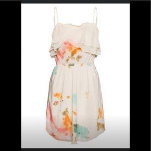 🌱Aritzia Wilfred 100% silk Emanuel dress